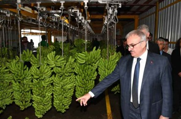 Antalya Governor Münir Karaloğlu Visited Our Facility
