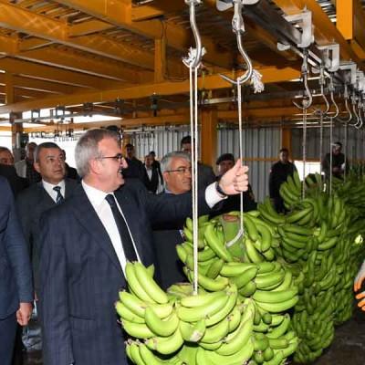 Antalya Valisi Münir Karaloğlu Tesisimizi Ziyaret Etti